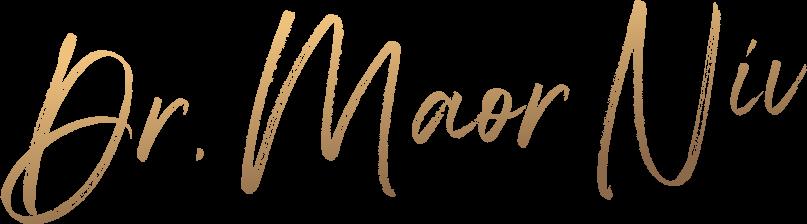 """לוגו ד""""ר מאור ניב"""